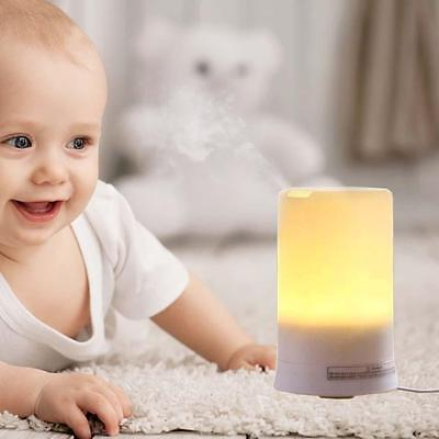 Air Humidifier Essential LED USB & Oil Ultrasonic Aromatherapy Aroma Diffuser AB
