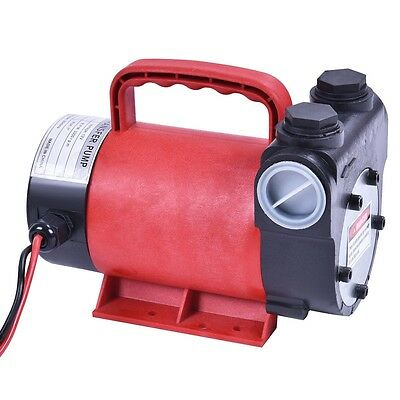 New Portable 12V10 GPM Electric Diesel Oil + Fuel Transfer Extractor Pump Motor