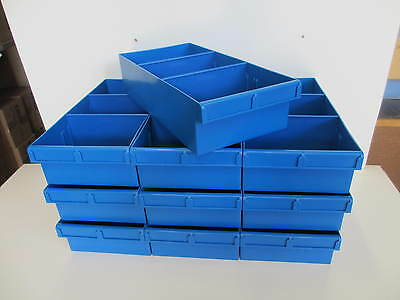 Fischer Plastics Spare Parts Tray 200x100x400 (Pack of 10) 1H-025 many colours