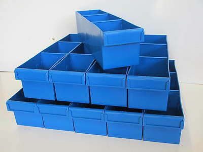 Fischer Plastics Spare Parts Tray 100x100x400 (Pack of 10) 1H-017 many colours