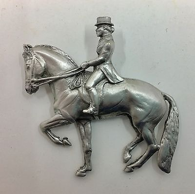 Dressage Horse and Rider Pin