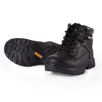 Mack Junior BBF Leather Soft Toe Work Boots