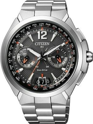Citizen Eco-Drive Solar Herrenuhr Satellite Wave Air CC1090-52E  NEU