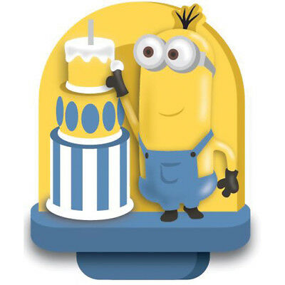 "Candle 3"" 1/Pkg Minions W114600"
