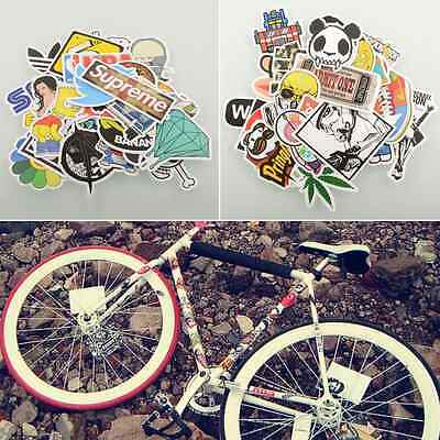 30/50/100 PCS Stickers Skateboard Vinyl Laptop Luggage Bike Decals mix Lot