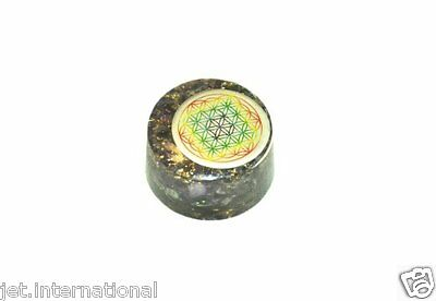 Amethyst Flower of Life Orgone Tower Buster Piezo Electric EMF Protection