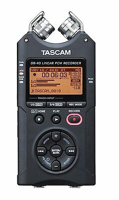 Tascam DR 40 Version 2 Registratore portatile digitale dittafono + SDCARD GAR.IT