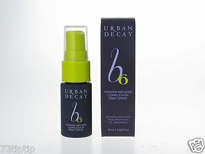 Urban Decay B6 Vitamin-Infused Complexion Prep Spray Travel Size 15Ml