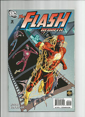 The Flash Rebirth #2 High Grade (Nm-) Dc