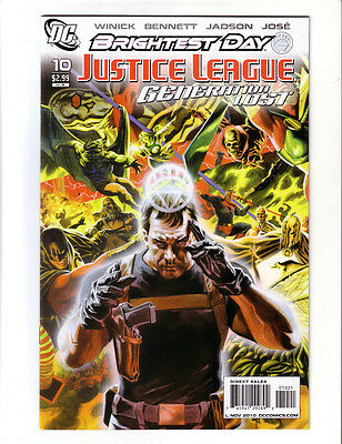 Justice League Generation Lost #10 Variant (Nm+)