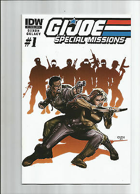 G.i. Joe Special Missions #1 Cover A (Vf/nm) Idw