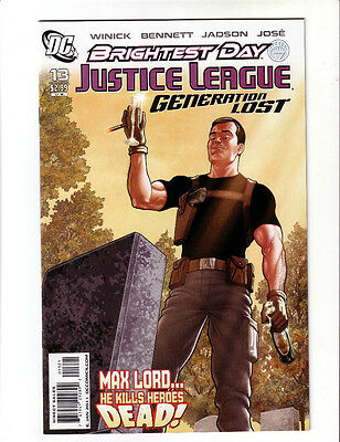 Justice League Generation Lost #13 Variant (Nm)