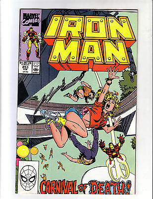 Iron Man #253 Higher Grade (Vf+) Byrne Colan