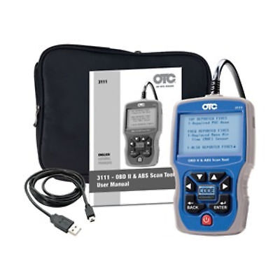OTC 3111 Trilingual, OBD II, CAN, EOBD, & ABS Automotive Scan Tool
