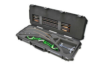 SKB 3i-4214-RC Recurve Bow Case & 2 TSA Locks