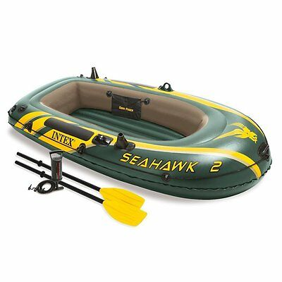 Intex Seahawk Inflatable Two-People Boat | For Fishing Camping Outdoor Life