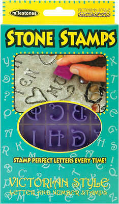 Stone Stamps Victorian Style Letters & Numbers 905-20-511