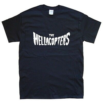 THE HELLACOPTERS T-SHIRT sizes S M L XL XXL colours Black, White