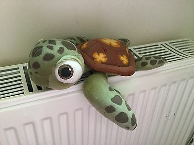 """Official Disney Finding Nemo Squirt The Turtle Soft Toy Plush 9"""" Vgcc"""