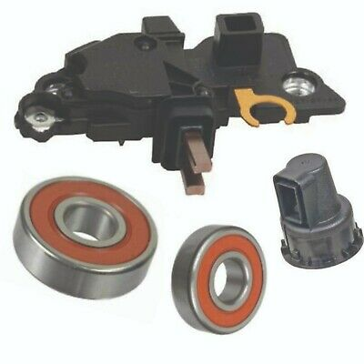 Alternator Repair Kit for '00-'04 Volvo C70 &more Regulator Brushes Bearings