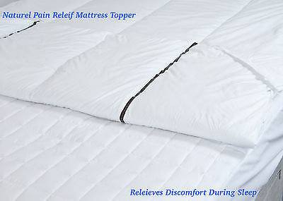 Natural Pain Relief Magnetic Mattress Topper / Reviver   One - Of - A - Kind