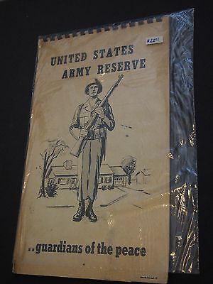 United States Army Recruiting Book - The United States Army As A Career