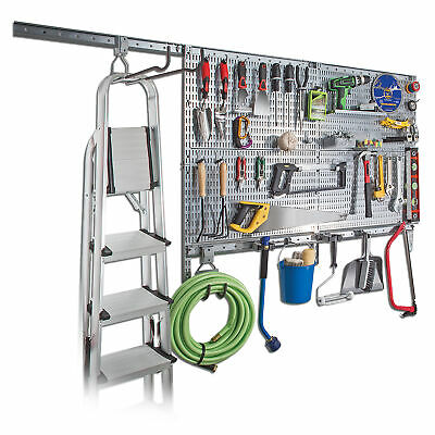 """Allspace 4"""" x 24"""" Utility Board and Acces Set 63pc/WallMount/Garage - 450048HF"""