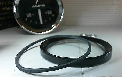 Auxiliary Jaeger Smiths Gauge Reconditioning Kit Domed Glass Black 1/2 V Bezel 2