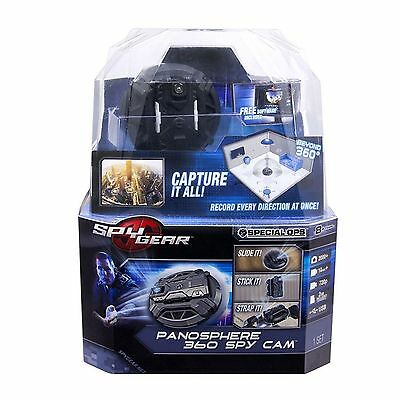 Spy Gear Panosphere 360-Degree Spy Cam NEW