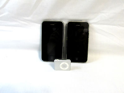 Apple Iphone/ipod Lot *parts Or Repair*sold A Is*