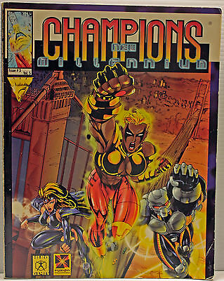 Champions New Millenium Champions Complete RPG Conversion (Hero Games, HG10001.
