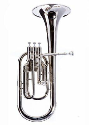 Fever Deluxe Alto Horn Silver Plated