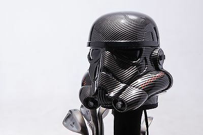 Carbon Fibre Painted StarWars Stormtrooper 460cc Golf Headcover