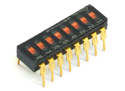 Knitter Switch DBS Slide DIP switch 8-Positions dip-switch 24V 25mA PCB DIP-16