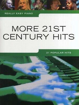 Really Easy - More 21st Century Hits Piano Book *NEW* Sheet Music, 21 Songs