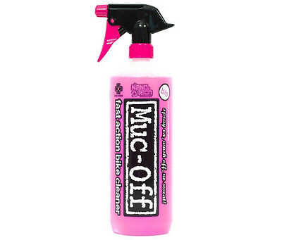 Muc-Off Nano Technology 1 Litre Bike Cleaner Spray Wash Shampoo Bicycle Cycle