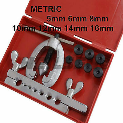 Neilsen On Car Brake Pipe Flaring Kit Metric 5,6,8,10,12,14 &16mm Car Van 7a