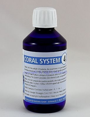 Coral System 4 Coloring Agent 4   250ml Korallenzucht   66,00€/L