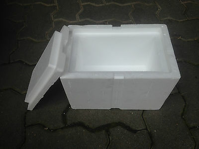 CAISSE  SUPER ISOLEE + CARTON 26x17x17cm Boite transport isotherme polystyrène