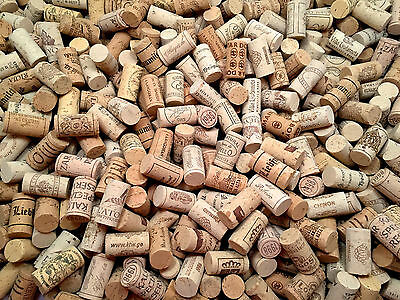 Wine Corks - Natural Used 100 pieces