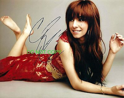 Christina Grimmie of The Voice reprint signed autographed photo #5 RP
