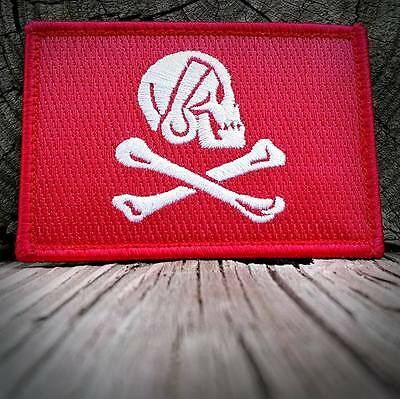 Henry Every Jolly Roger Morale Patch Patriot Militia Red Version