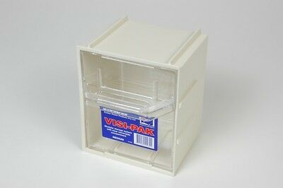 Fischer Plastic Products Visi-Pak Modular Storage System Medium 1H-041 Aust Made