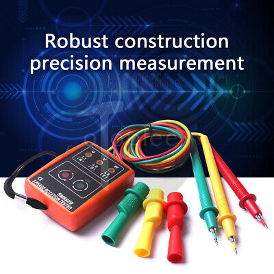 3 Phase Detector  Sequence Checker Rotation Indicator Meter Tester LED 60~600V