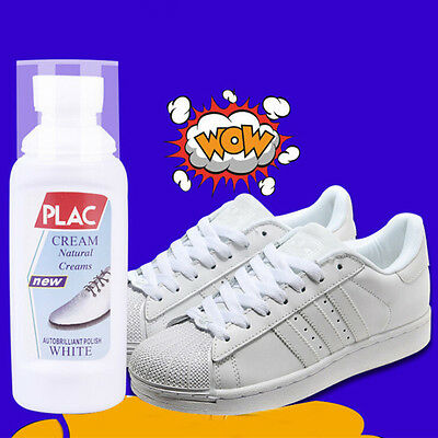 75ml Magic Refreshed White Shoe Trainer Boot Cleaner Cleaning Useful Tool Kit