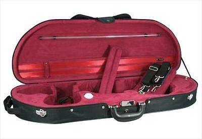 "Young ""D"" Shape Half Moon Violin Case, 4/4 Full Size **NEW**"