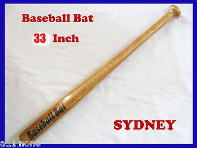 Brand New 33Inch Wooden Baseball Bat