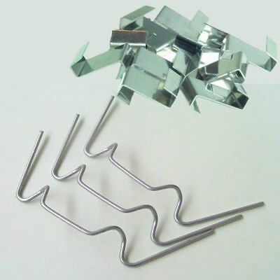 Greenhouse Glass Glazing Fixing Repair Replacement Clips 50 W & 50 Z Clips