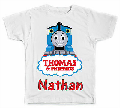 Personalized Thomas The Train T-Shirt
