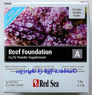 Red Sea Reef Foundation A 1kg Calcium & Strontium Complex Ca/Sr Powder 23,95€/kg